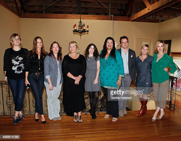 Kate Brandt Heather Rae Karyn Kusama Mimi Leder Nell Scovell Concepcion Lara Neal Dodson Miranda Bailey and Sharon Lawrence attend the 'iWe Summit'...