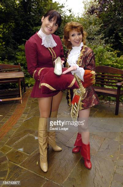 Kate Burrell and Bonnie Langford during Guildford Production of 'Cinderella' Press Launch and Photocall at Yvonne Arnaud Theatre Guildford in Surrey...