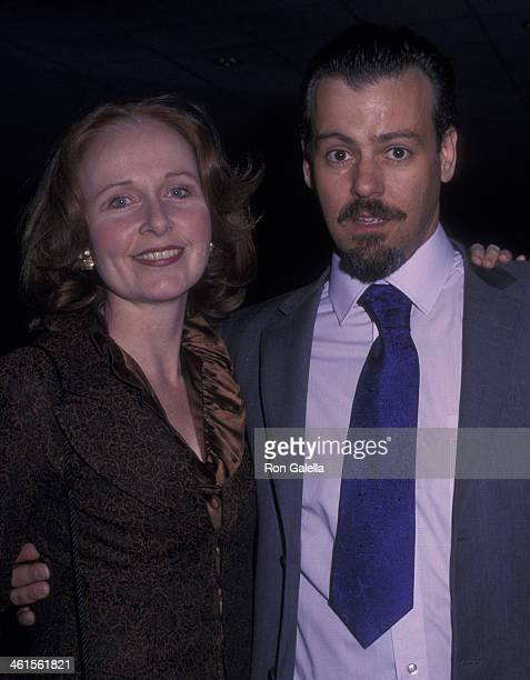 Kate Burton and Rupert Graves attend 80th Birthday Party for James M Nederlander on April 29 2002 at the Sheraton Hotel in New York City
