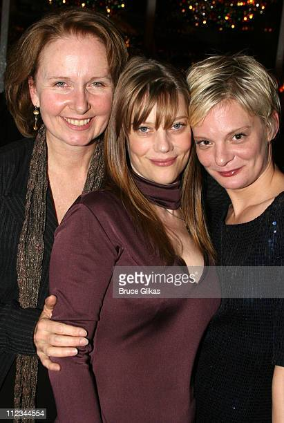 Kate Burton Kellie Overbey and Martha Plimpton during Opening Night of Tom Stoppard's 'The Coast of Utopia Voyage' at Tavern On The Green in New York...