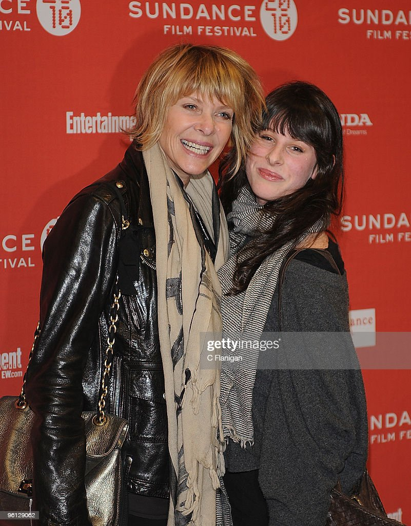 <a gi-track='captionPersonalityLinkClicked' href=/galleries/search?phrase=Kate+Capshaw&family=editorial&specificpeople=204585 ng-click='$event.stopPropagation()'>Kate Capshaw</a> and Sasha Spielberg attend 'The Company Men' Premiere during the 2010 Sundance Film Festival at Eccles Center Theatre on January 22, 2010 in Park City, Utah.