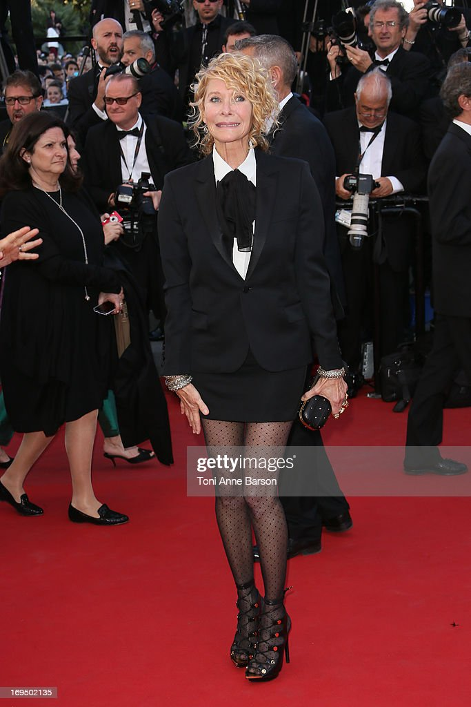 Kate Capshaw attends the Premiere of 'La Venus A La Fourrure' at The 66th Annual Cannes Film Festival on May 25, 2013 in Cannes, France.