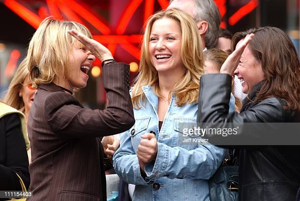 Kate Capshaw Jessica Capshaw during Spielberg Receives Star on Walk of Fame at Hollywood in Hollywood CA United States