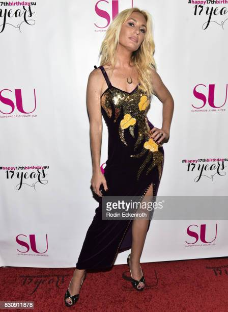Kate Chastain attends SU Magazine's 17th Anniversary Celebration at Avalon on August 12 2017 in Hollywood California