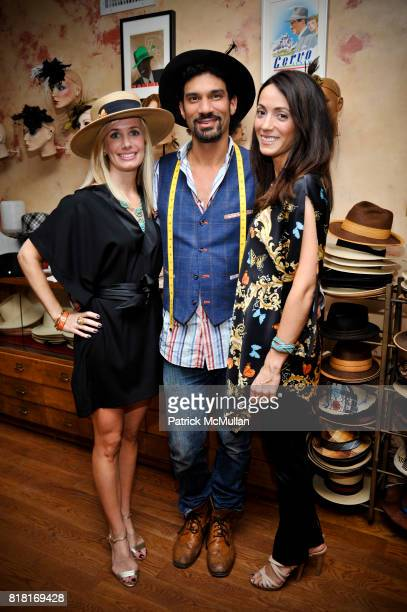 Kate Cutshall Orlando Palacios and Karen LaGatta attend BELLE PLAGE CLOTHING Holiday Party Spring 2011 Preview at Worth Worth on November 30 2010 in...