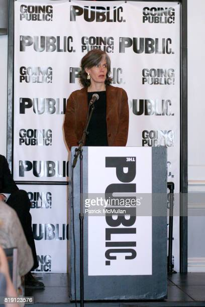 Kate D Levin attends THE PUBLIC THEATRE Kicks Off Building Renovations and Launches CAPITAL CAMPAIGN With CEREMONIAL GROUNDBREAKING at The Public...