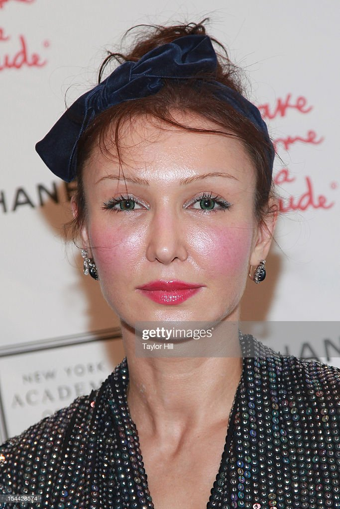 Kate de Brienne attends the 2012 Take Home a Nude Benefit Art Auction at Sotheby's on October 18, 2012 in New York City.