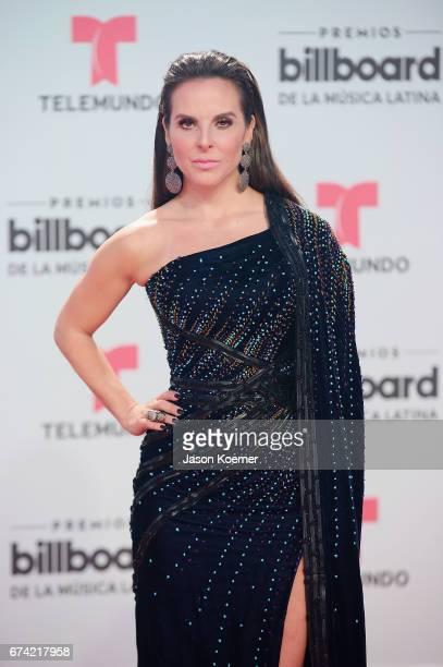 Kate Del Castillo attends the Billboard Latin Music Awards at Watsco Center on April 27 2017 in Miami Florida