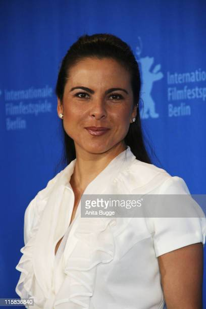 Kate del Castillo attends the 'Julia' photocall during day three of the 58th Berlinale International Film Festival held at the Grand Hyatt Hotel on...