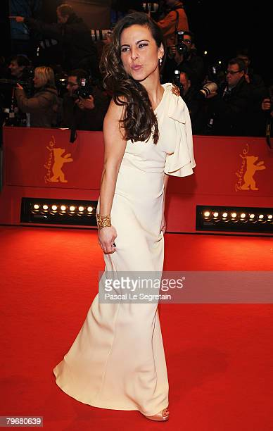 Kate del Castillo attends the 'Julia' Premiere as part of the 58th Berlinale Film Festival at the Berlinale Palast on February 9 2008 in Berlin...