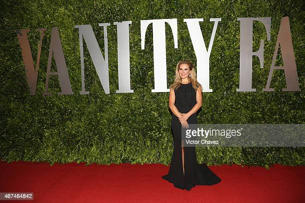 Kate del Castillo attends the Vanity Fair México magazine launch at Casa Del Lago on March 24 2015 in Mexico City Mexico