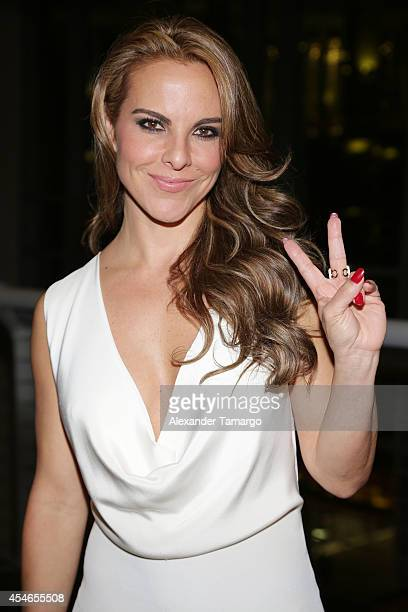 Kate del Castillo makes an appearance at the 'No Good Deed' movie screening on September 4 2014 in Miami Florida