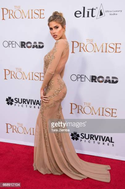 Kate Del Toro arrives to the Los Angeles premiere of 'The Promise' at TCL Chinese Theatre on April 12 2017 in Hollywood California