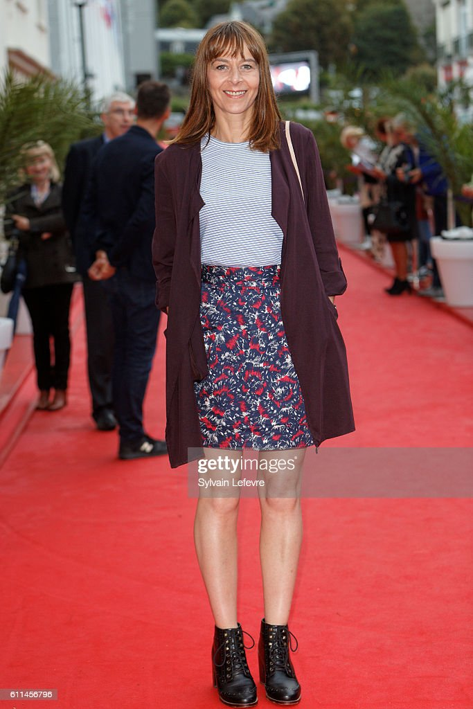 Kate Dickie attends opening ceremony of 27th Dinard British Film Festival on September 29, 2016 in Dinard, France.