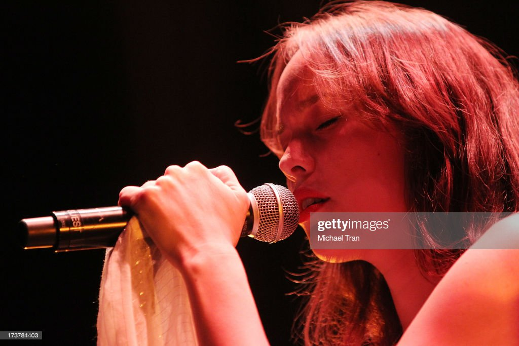 Kate Earl performs onstage at Gibson Amphitheatre on July 17, 2013 in Universal City, California.