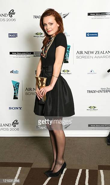 Kate Elliott Winner of best performance by an actress