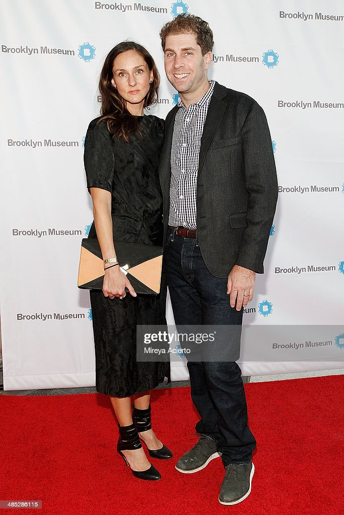 Kate Engelbrech and Jed Walentas attend the Brooklyn Museum's 4th annual Brooklyn Artists Ball on April 16, 2014 in the Brooklyn borough of New York City.
