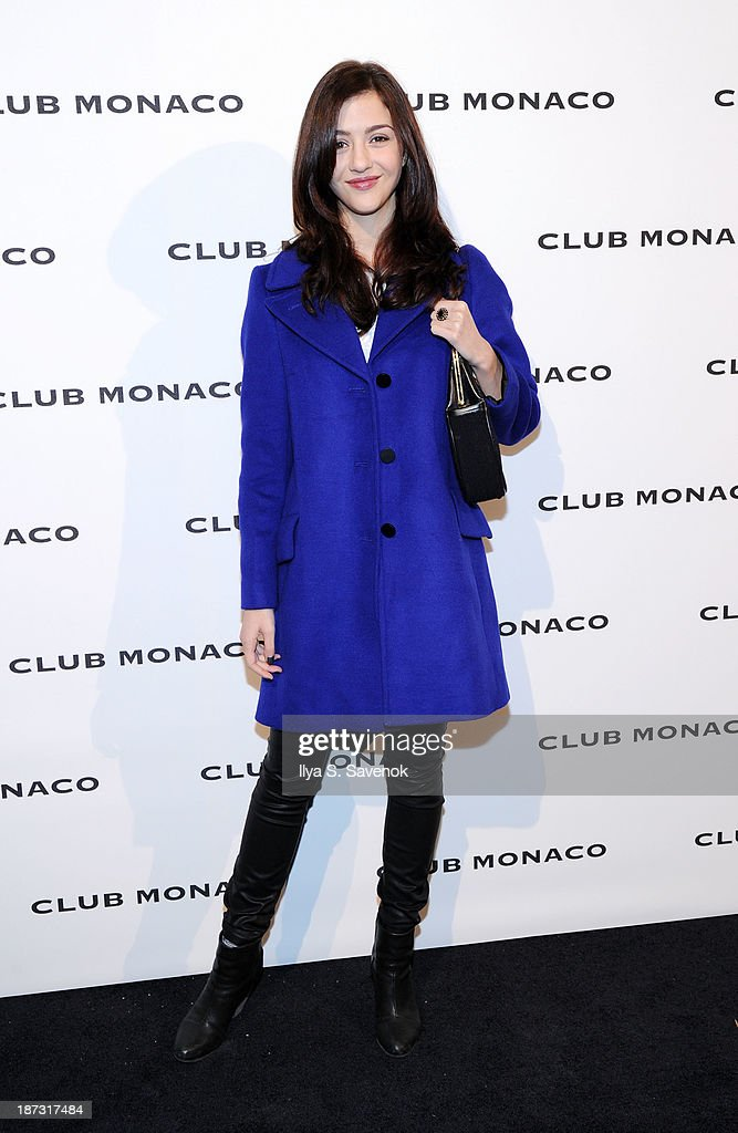 Kate Findley attends the opening celebration of Club Monoco's Fifth Avenue Flagship at Club Monaco Fifth Avenue on November 7, 2013 in New York City.