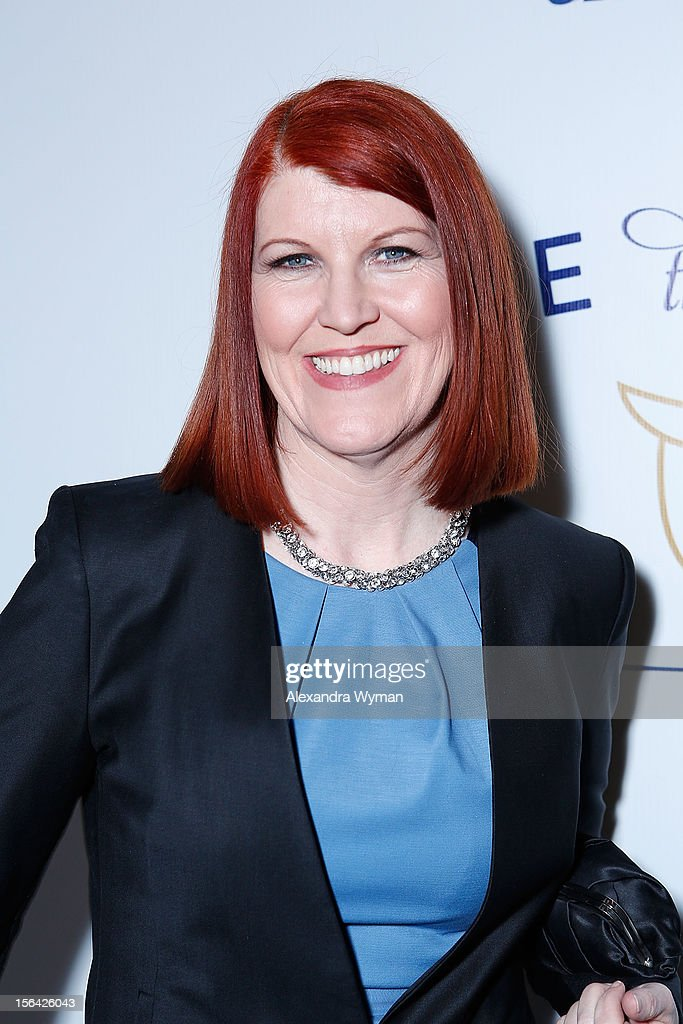 Kate Flannery at the launch of Tie The Knot, a charity benefitting marriage equality through the sale of limited edition bowties available online at TheTieBar.com/JTF held at The London West Hollywood on November 14, 2012 in West Hollywood, California.