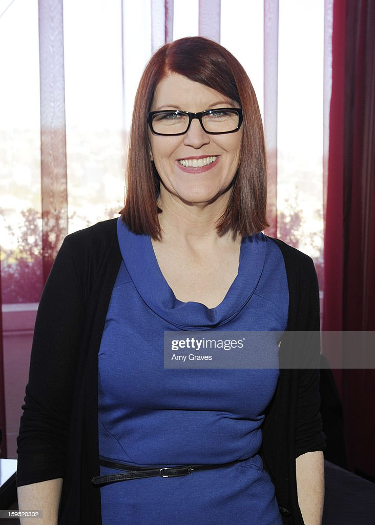 Kate Flannery attends GBK's Luxury Lounge during Golden Globe weekend day 2 at L'Ermitage Beverly Hills Hotel on January 12, 2013 in Beverly Hills, California.