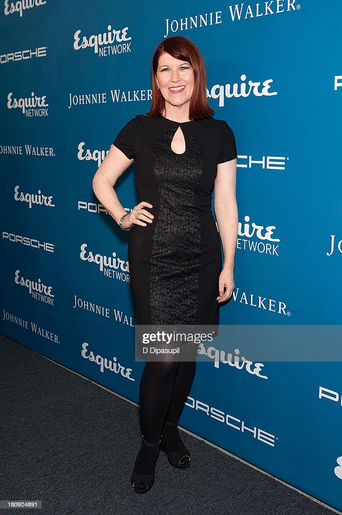 Kate Flannery attends the Esquire 80th Anniversary And Esquire Network Launch Celebration at Highline Stages on September 17, 2013 in New York City.