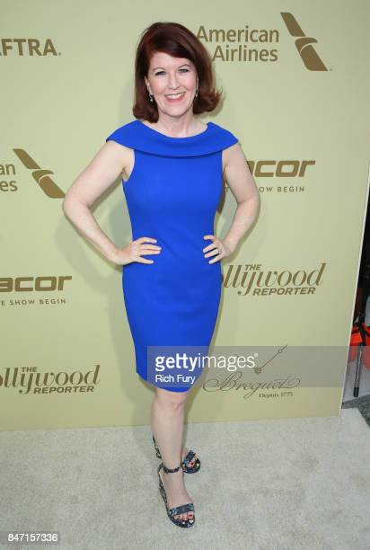 Kate Flannery attends The Hollywood Reporter and SAGAFTRA Inaugural Emmy Nominees Night presented by American Airlines Breguet and Dacor at the...