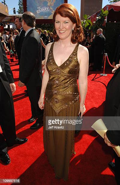 Kate Flannery during 58th Annual Primetime Emmy Awards Red Carpet at The Shrine Auditorium in Los Angeles California United States