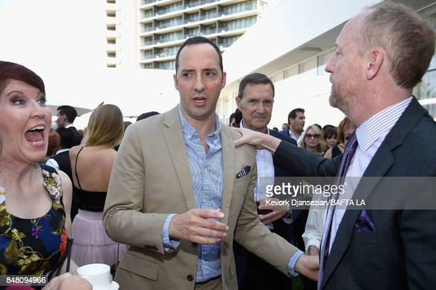 Kate Flannery Tony Hale and Matt Walsh attend the BBC America BAFTA Los Angeles TV Tea Party 2017 at The Beverly Hilton Hotel on September 16 2017 in...