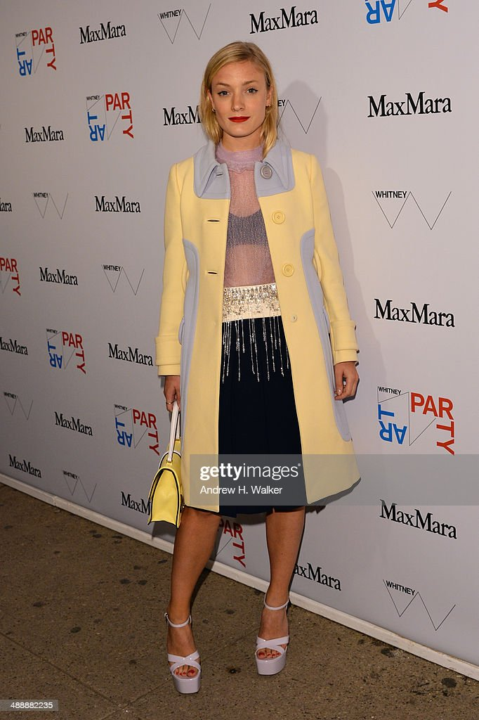 Kate Foley attends the Whitney Art Party sponsored by Max Mara at Highline Stages on May 8, 2014 in New York City.