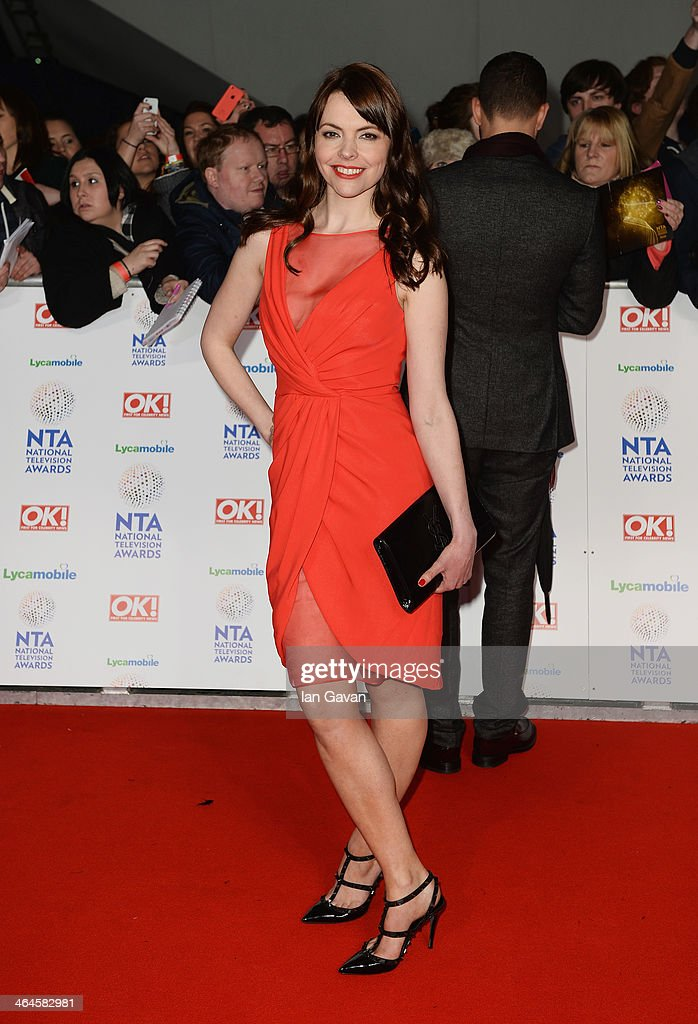 Kate Ford attends the National Television Awards at 02 Arena on January 22, 2014 in London, England.