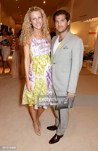 Kate Freud and Jack Freud arrive at The Masterpiece Marie Curie Party supported by JaegerLeCoultre and hosted by Heather Kerzner at The Royal...
