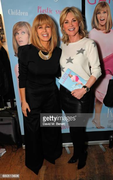Kate Garraway and Anthea Turner attend the launch of Kate Garraway's new book 'The Joy Of Big Knickers ' at Waterstones Piccadilly on March 9 2017 in...