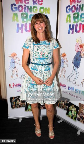 Kate Garraway attending a special performance show of We're Going On A Bear Hunt at the Lyric Theatre