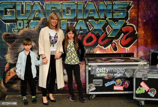 Kate Garraway attending The European Premiere of Guardians of the Galaxy Vol 2 held at the Eventim Apollo London PRESS ASSOCIATION Photo Picture date...