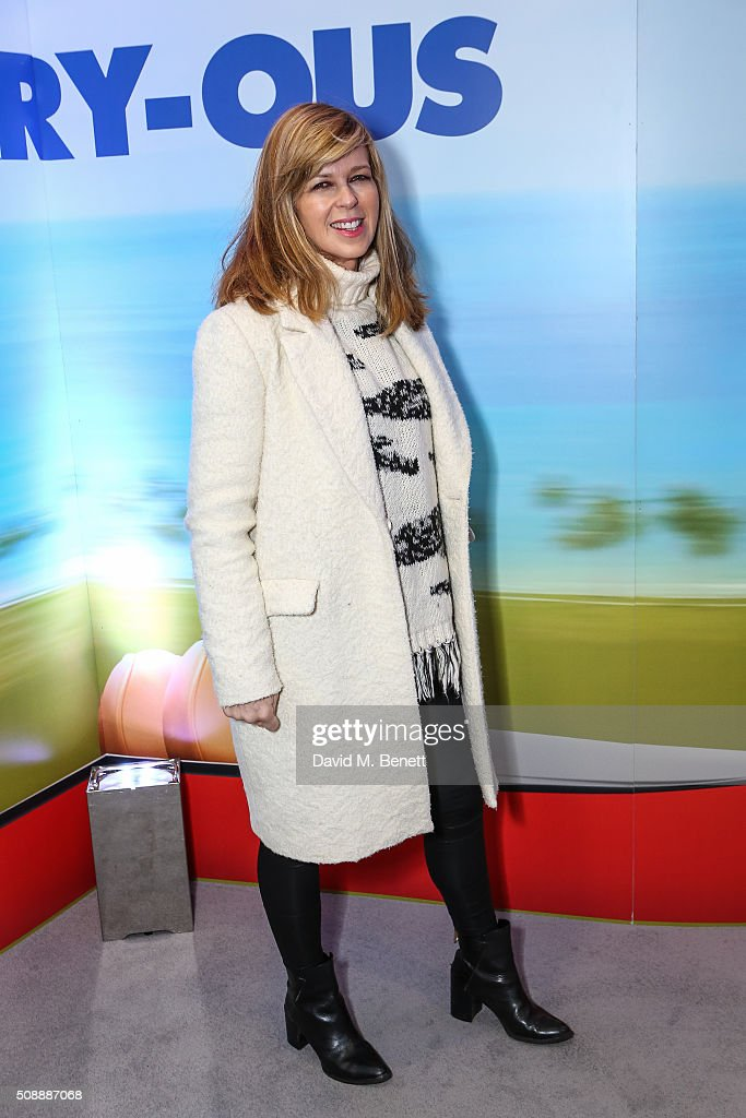 <a gi-track='captionPersonalityLinkClicked' href=/galleries/search?phrase=Kate+Garraway&family=editorial&specificpeople=585575 ng-click='$event.stopPropagation()'>Kate Garraway</a> attends a Gala Screening of 'Alvin & The Chipmunks: The Road Chip' at Vue West End on February 7, 2016 in London, England.