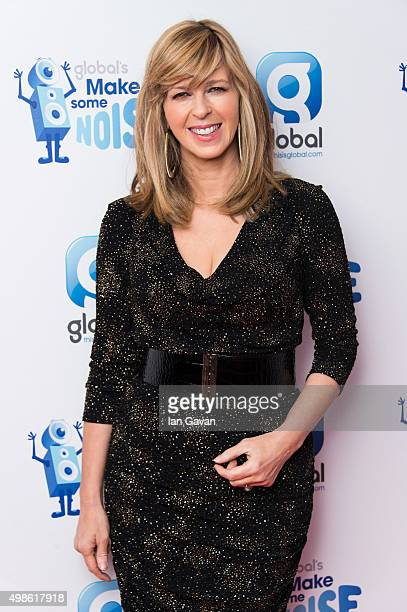 Kate Garraway attends Global's Make Some Noise Gala at Supernova on November 24 2015 in London England