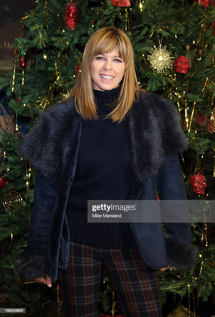 <a gi-track='captionPersonalityLinkClicked' href=/galleries/search?phrase=Kate+Garraway&family=editorial&specificpeople=585575 ng-click='$event.stopPropagation()'>Kate Garraway</a> attends Hogwarts In The Snow VIP Preview at Warner Bros Studios on November 14, 2013 in London, England.