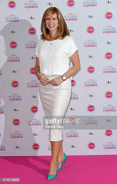 Kate Garraway attends Lorraine's High Street Fashion Awards at Grand Connaught Rooms on May 19 2015 in London England