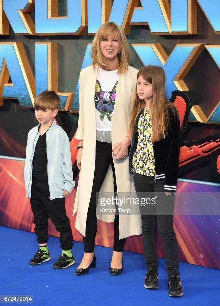 Kate Garraway attends the European Gala screening of 'Guardians of the Galaxy Vol 2' at Eventim Apollo on April 24 2017 in London United Kingdom