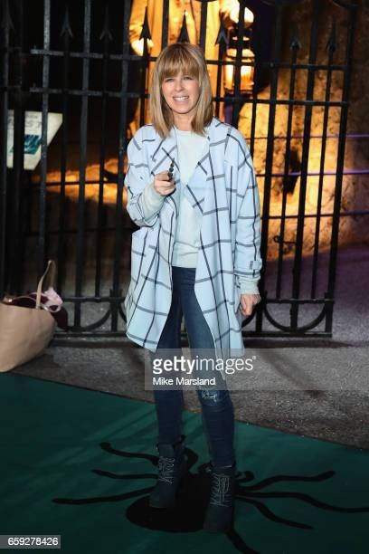 Kate Garraway attends the exclusive launch event for the Forbidden Forest a new expansion at Warner Bros Studio Tour London The Making of Harry...