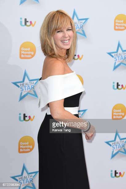 Kate Garraway attends the Good Morning Britain Health Star Awards at the Rosewood Hotel on April 24 2017 in London United Kingdom