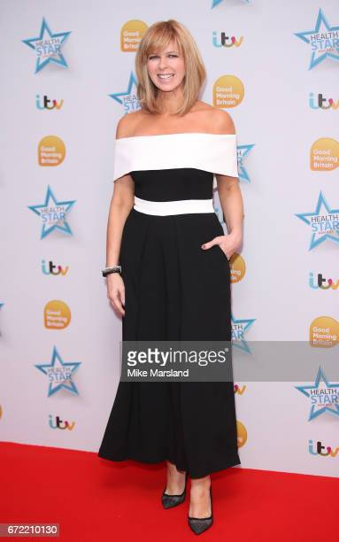 Kate Garraway attends the Good Morning Britain Health Star Awards on April 24 2017 in London United Kingdom