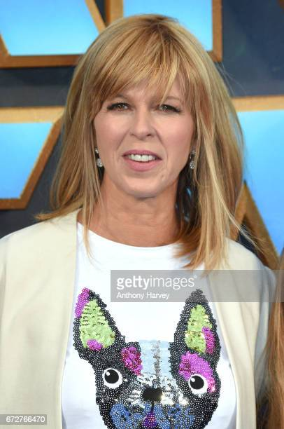 Kate Garraway attends the UK screening of 'Guardians of the Galaxy Vol 2' at Eventim Apollo on April 24 2017 in London United Kingdom