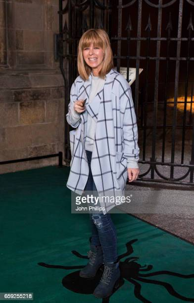 Kate Garraway attends the Warner Bros Studio Tour on March 28 2017 in Watford United Kingdom