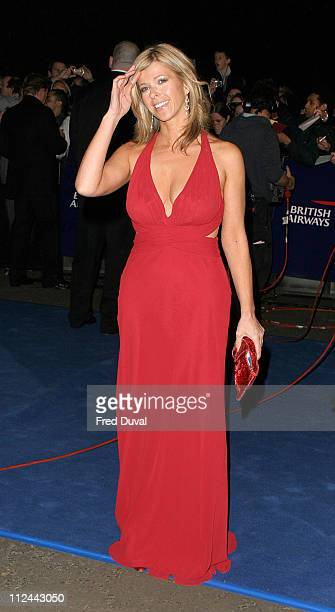 Kate Garraway during 10th Annual National Television Awards Arrivals at Royal Albert Hall in London Great Britain