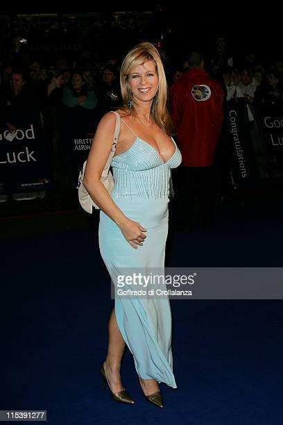 Kate Garraway during National Television Awards 2005 at Royal Albert Hall London in London United Kingdom