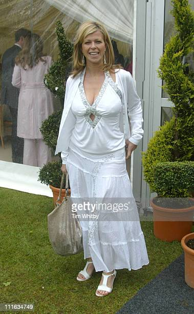 Kate Garraway during The Prince of Wales Trophy Final May 21 2005 at The Royal County of Berkshire Polo Club in Windsor Great Britain