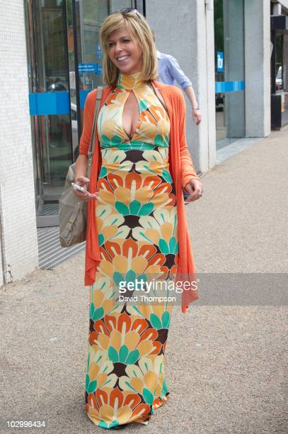 Kate Garraway is seen leaving the gmtv studios on July 20 2010 in London England