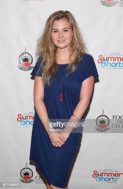 Kate German attends the OffBroadway opening night party for 'SUMMER SHORTS 2017' at Fogo de Chao Churrascaria on August 7 2017 in New York City