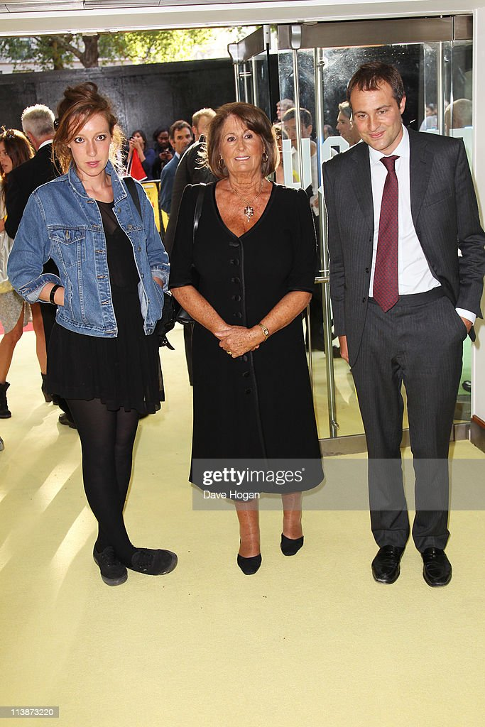 L-R <a gi-track='captionPersonalityLinkClicked' href=/galleries/search?phrase=Kate+Goldsmith&family=editorial&specificpeople=236075 ng-click='$event.stopPropagation()'>Kate Goldsmith</a>, <a gi-track='captionPersonalityLinkClicked' href=/galleries/search?phrase=Lady+Annabel+Goldsmith&family=editorial&specificpeople=622037 ng-click='$event.stopPropagation()'>Lady Annabel Goldsmith</a> and <a gi-track='captionPersonalityLinkClicked' href=/galleries/search?phrase=Ben+Goldsmith&family=editorial&specificpeople=745555 ng-click='$event.stopPropagation()'>Ben Goldsmith</a> attend the European premiere of Fire In Babylon at the Odeon Leicester Square on May 9, 2011 in London, England.